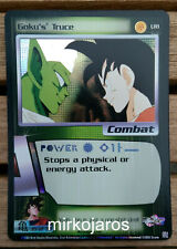GOKU'S TRUCE [Light Play] UR1 GKI Promo Ultra Rare Dragon Ball Z Ccg Dbz Score