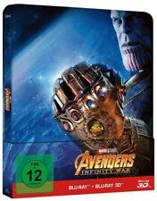 Avengers Infinity War 3d 2d Blu Ray Steelbook
