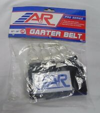 "New A&R Pro Series Junior Hockey Garter Belt Size Junior 22""-30"" Black"