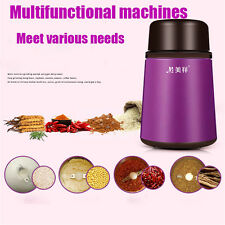 Electric Coffee Grinder Burr Spice Mill Bean Nuts Grain Grinding Crusher Machine