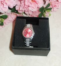Chronotech Aluminum Red Dial Quartz Watch 7039L/04M new