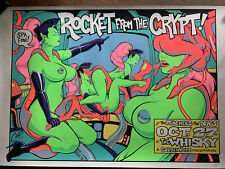 COOP ROCKET FROM THE CRYPT LA SIGNED 1995 ORIGINAL POSTER 15 out of 650