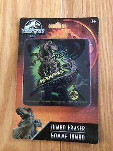 Jurassic World Jumbo Eraser