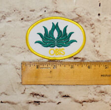 OBIS Uniform or Girl Scout Outdoor Fun Patch with Plant