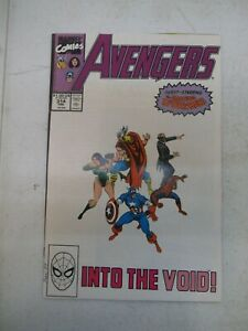 AVENGERS #314 1990 NM+ NEAR MINT+ 9.6 WITH SPIDER-MAN SERSI THOR CAP ALFRED