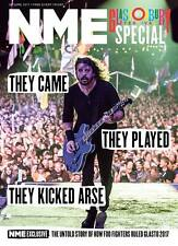 NME Magazine June 2017 - Foo Fighters Photo Cover - Glastonbury Special