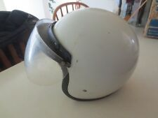 Vintage Early Bell RT Helmet with sheild