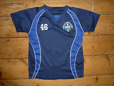 Greenock Morton FC (piccole) FOOTBALL SHIRT Morton sostenitori TRUST Soccer Jersey