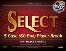 Albert Pujols ANGELS 2021 SELECT Baseball 5 Case (60 Box) Player Break