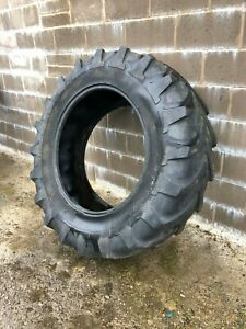 #B1112 Michelin Agribib 16.9R34 tractor tyre 420/85R34 10% tread remaining.