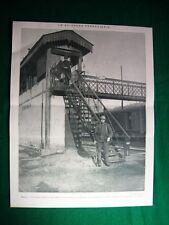 Nel 1920 Torino Sciopero ferroviario, posto di blocco all'entrata della stazione