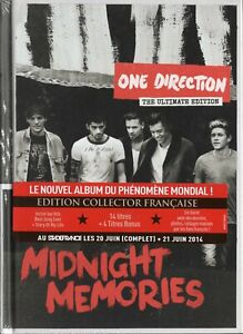ONE DIRECTION - MIDNIGHT MEMORIES CD DIGIBOOK ULTIMATE EDITION NEUF SOUS BLISTER