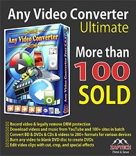 Any Video Converter Ultimate Supports - Download Link & Activation Code