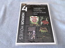 MGM Movie Collection: 4 Horror (DVD, 2010) - RETURN OF THE LIVING DEAD - NEW
