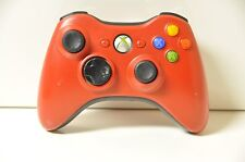 Official Genuine OEM Microsoft xbox 360 Wireless Controller Red