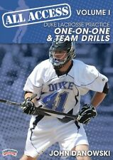 All-Access Duke Lacrosse, Vol. I: One-on-One and Team Drills- 4xDVDs (6 hours+)