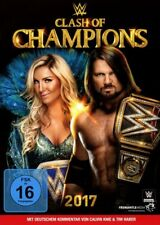 CLASH OF THE CHAMPIONS 2017   DVD NEW+
