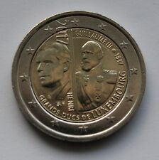 LUXEMBOURG - 2 € euro commemorative coin 2017 - Grand Duke Guillaume III 200