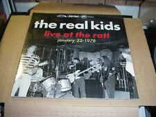 LP:  THE REAL KIDS - Live At The Rat January 22 1978  NEW SEALED