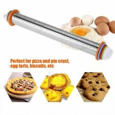 Non-Stick Removable Rings Mat Dough Roller Bakeware Rolling Pin Baking Tools