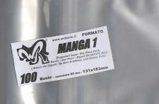 "100 BUSTE WR ""MANGA 1"" 131x183 mm x One Piece Naruto da estate 2012 Bleach"