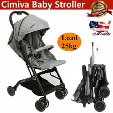 Baby Foldable Travel System Stroller Safety Infant Car Seat Combo Set Adjustable
