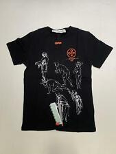 Men T-shirt OFF-WHITE Size L Color Black/Cotton