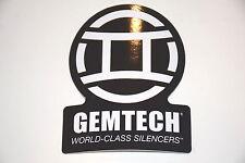 GEMTECH SUPPRESSOR STICKER BLACK/WHITE ALPINE ARROW G5 BLACKSIDE RAPTOR TUNDRA!!