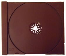 (10) CDIR80SBU Solid Burgundy Standard CD Trays Replacement Inserts Colored NEW