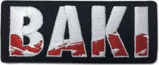 Baki Logo Anime Patch Iron Sew On Collectible
