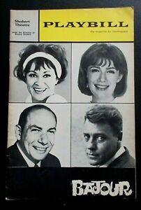 Bajour Playbill programme Shubert Theatre Oct 1964 Chita Rivera Nancy Dussault