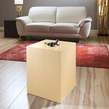 Oak Square Side & End Tables without Assembly Required