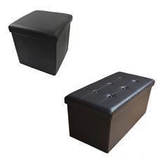 Stylehome Sitzhocker Sitzbank Sitzwürfel Aufbewahrungsbox Fu�Ÿbank Faltbar