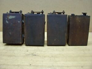 Vintage Ford Model T A Antique Car Engine Ignition Coils Buzz Box Hit Miss Gas K