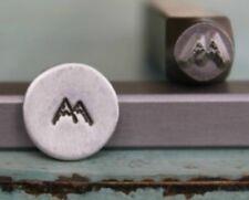 SUPPLY GUY 5mm Mountain Peak Metal Punch Design Stamp SGCH-25