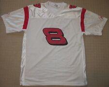 Nascar Dale Earnhardt Jr. # 8 Budweiser Beer Football Jersey Adult Mens Large