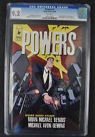 Powers 1 Image 2000 NM- CGC 9.2 1st Print