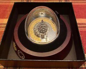 CANADA 2020 $50 5 Oz Pure Silver Coin - Christmas Train - Mintage: 1,000 JR25