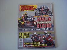MOTOSPRINT 48/1998 SUZUKI BURGMAN 400/EPICURO 125/HONDA CBR 600 F/VARADERO
