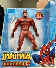 """Amazing Spider-Man 12"""" Inch Daredevil Action Figure Toy Biz Marvel 2006 w Nunchk"""