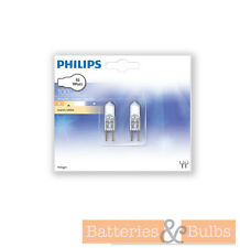 10w 12v G4 Philips Halogen Capsule Warm White Dimmable (each pack has 2 bulbs)
