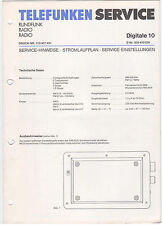 Service Manual Telefunken Rundfunk Radio Digitale 10 (121)