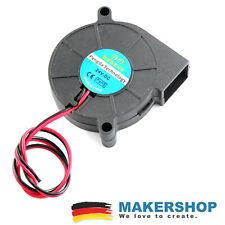 Radial Lüfter 5015 12V 50mmx50x15 4200 RPM 3D Drucker Radiallüfter Fan RepRap