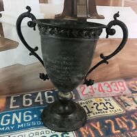 1912 Spaulding Baseball Trophy By Dieges And Clust Rare Antique St Louis MO