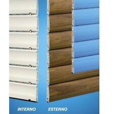 TAPPARELLA TAPPARELLE AVVOLGIBILE PVC bicolore + rinforzo vetro (detrazione 50%)