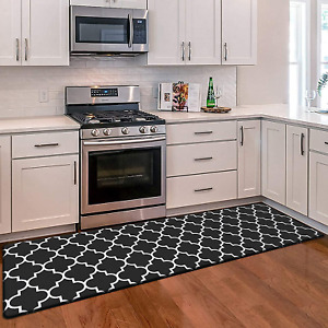 Kitchen Mat Cushioned Anti Fatigue Rug Heavy Duty Waterproof Non Water Resistant