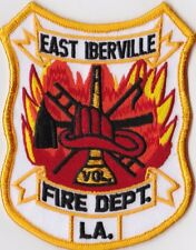 East Iberville Fire Dept. LA Firefighter Patch NEW!!