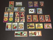 VINTAGE REPUBLIC OF EQUATORIAL GUINEA STAMP LOT - LOTS OF BEAUTIES IN TOP SHAPE!