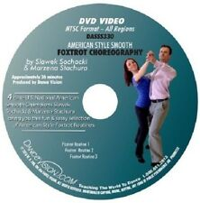 FOXTROT American Style Smooth Choreography Dance Vision DVD