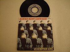 """MANFRED MANN'S EARTH BAND - Redemption Song / Wardream 7"""" Bronze Records 1982"""